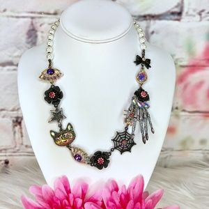 Betsey Johnson And Boo To You Statement Necklace